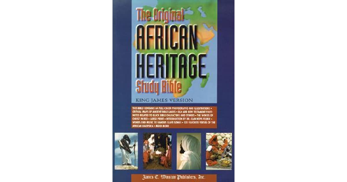 Original African Heritage Study Bible-KJV-Large Print by