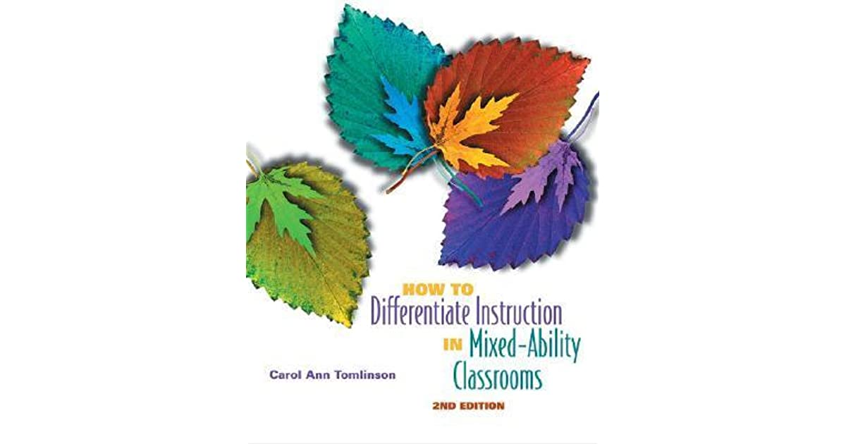 How To Differentiate Instruction In Mixed Ability Classrooms By