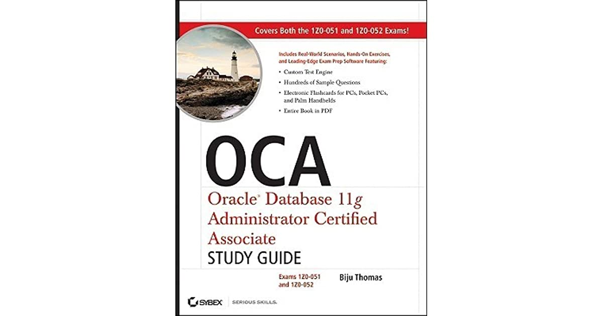 Oca Oracle Database 11g Administrator Certified Associate Study