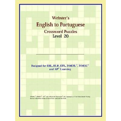Websters English to Portuguese Crossword Puzzles: Level 9
