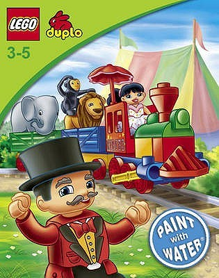 Lego Duplo: W36: Paint with Water Book Lego Books