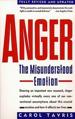 Anger: The Misunderstood Emotion cover