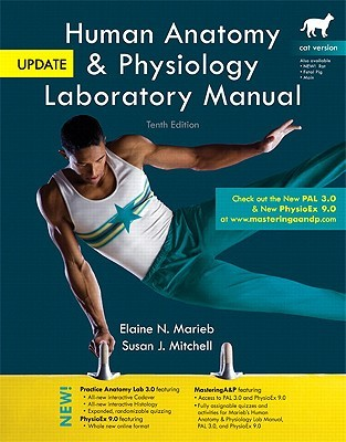 Human Anatomy & Physiology Laboratory Manual, Cat Version, Update [With CDROM and Access Code and eBook]