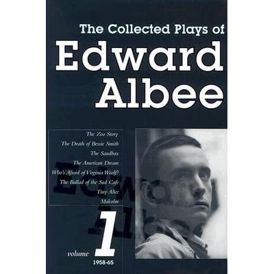 The Collected Plays Vol 1 1958 1965 By Edward Albee