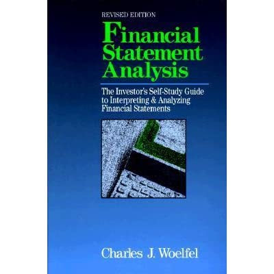 Analysis of Financial Statements - Free Financial Analysis ...