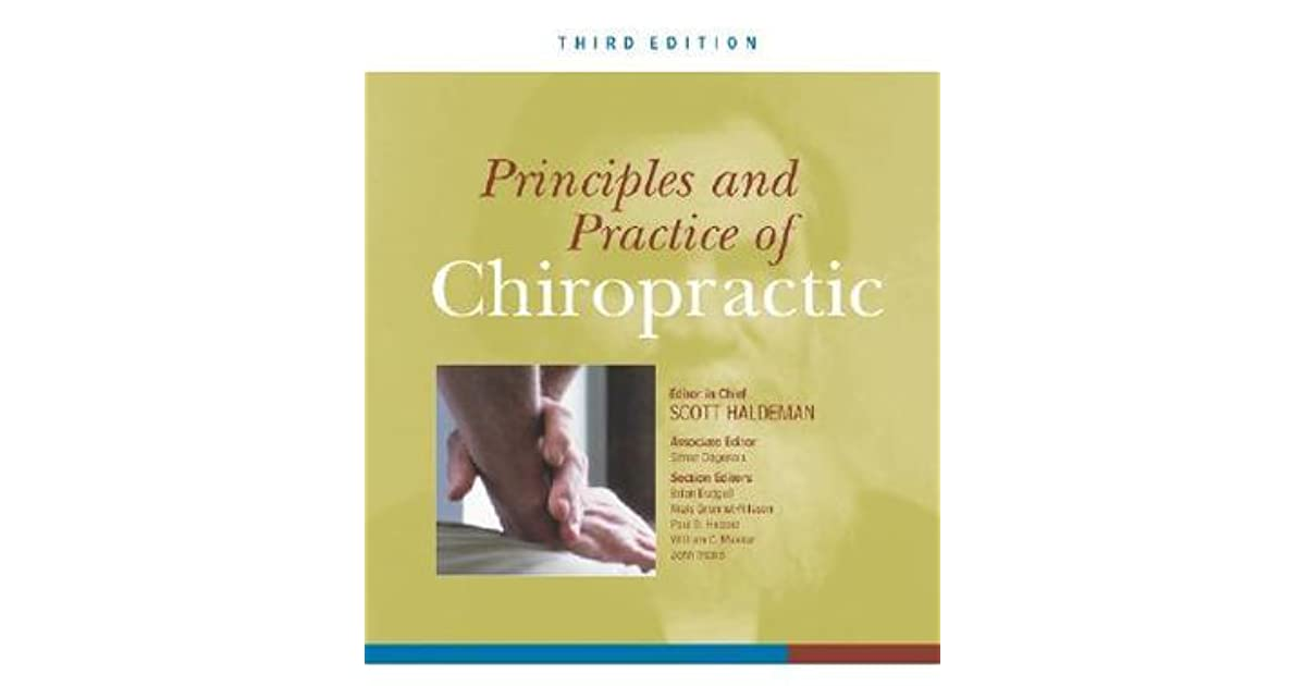 Principles and Practice of Chiropractic, Third Edition (A & L Allied Health)