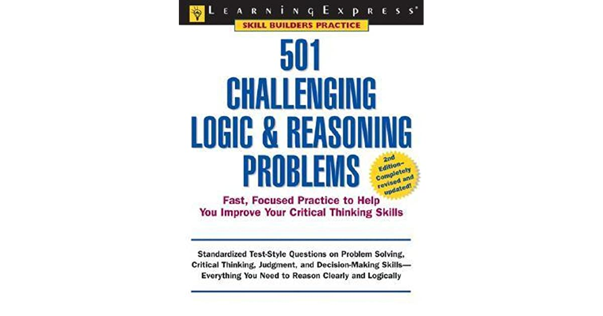 501 challenging logic and reasoning problems Watch [pdf] 501 challenging logic reasoning problems (501 series) [online books] by emiliapearce on dailymotion here.