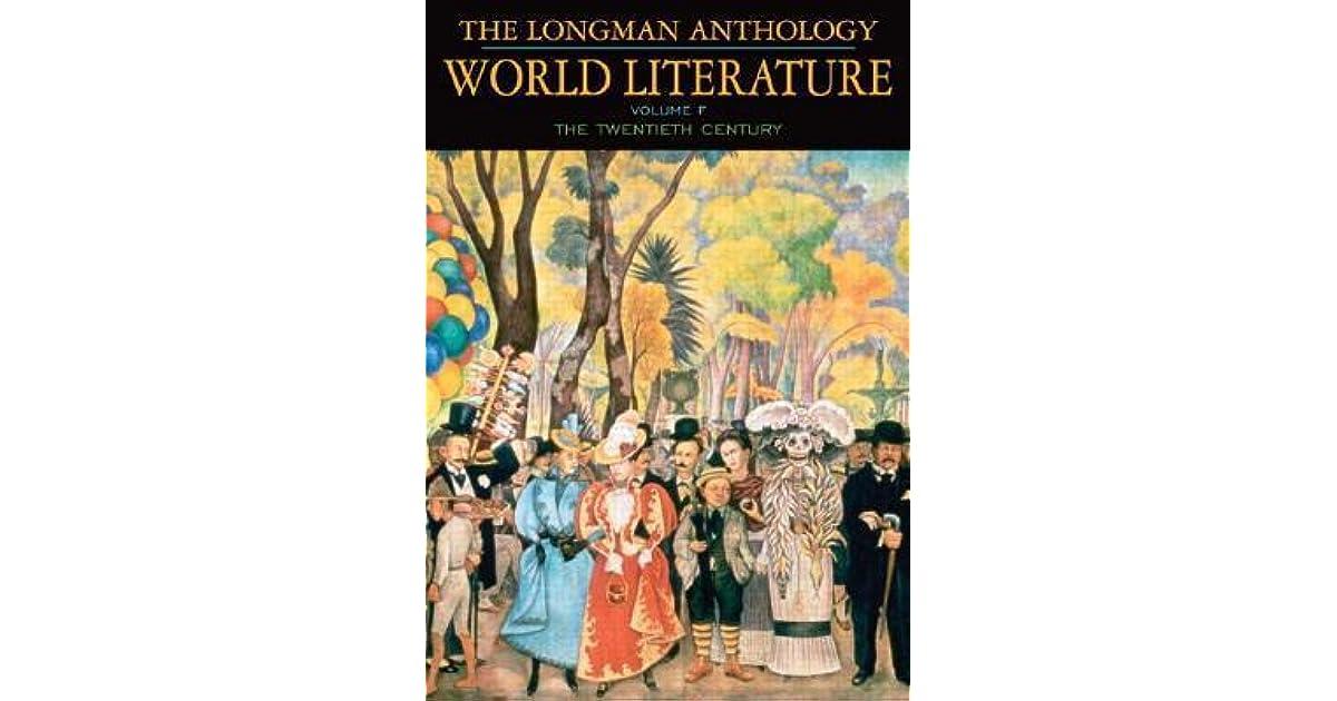 The longman anthology of world literature volume f 20th century by the longman anthology of world literature volume f 20th century by david damrosch fandeluxe Gallery