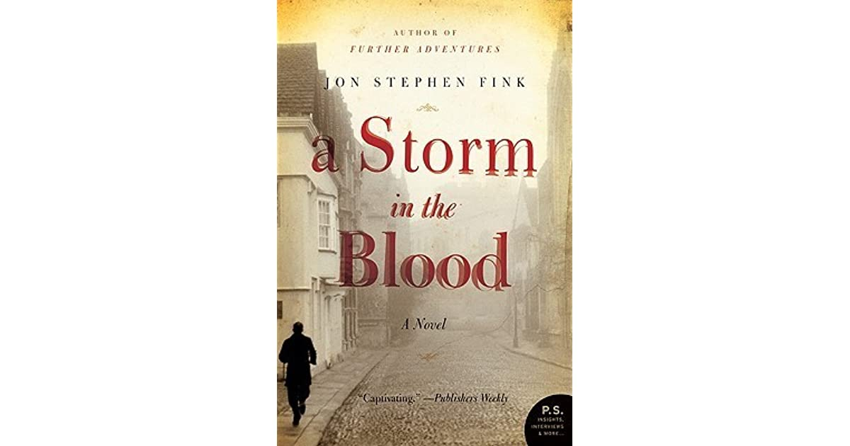 A Storm In The Blood By Jon Stephen Fink border=