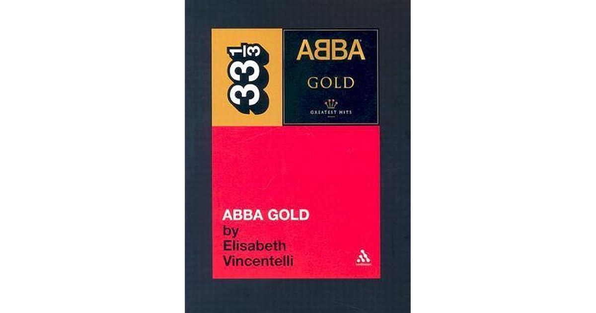 Abba Gold by Elisabeth Vincentelli