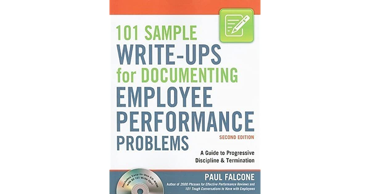 write ups for employees
