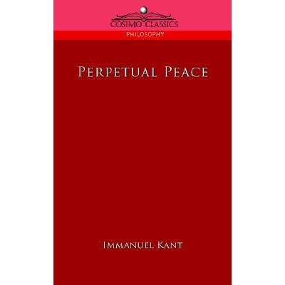 kant perpetual peace essay questions