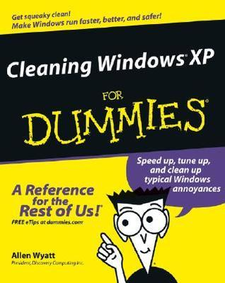 Cleaning Windows XP for Dummies (ISBN - 076457549X)