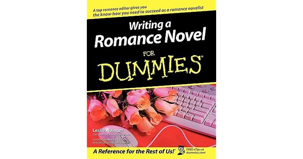 Search result for Writing Romance Novels For Dummies