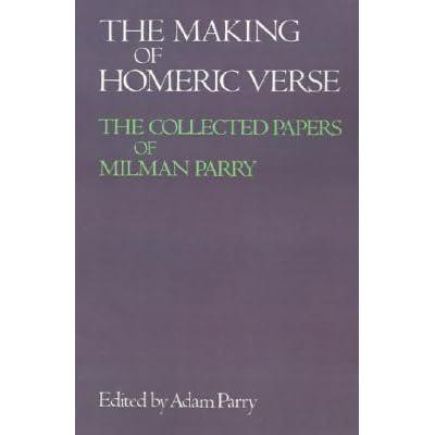 milman parry biography of william