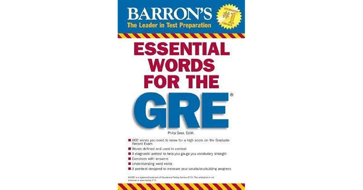 Barrons 800 Words Pdf