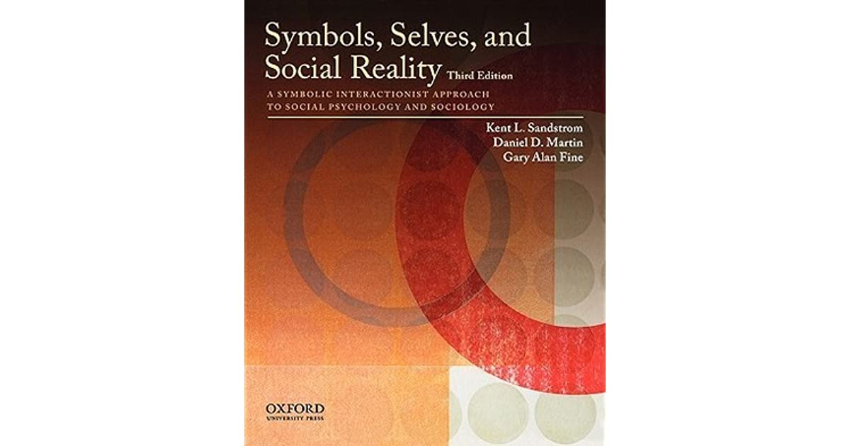Symbols Selves And Social Reality A Symbolic Interactionist