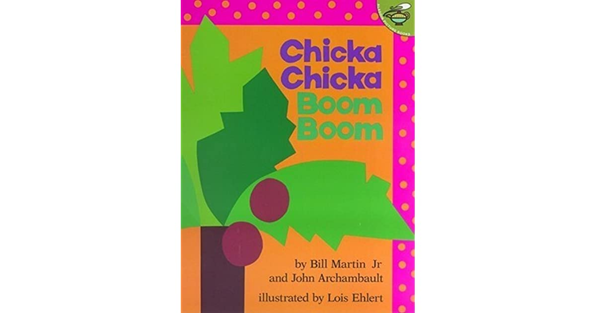 Chicka Chicka Boom Boom by Bill Martin Jr. - photo#26
