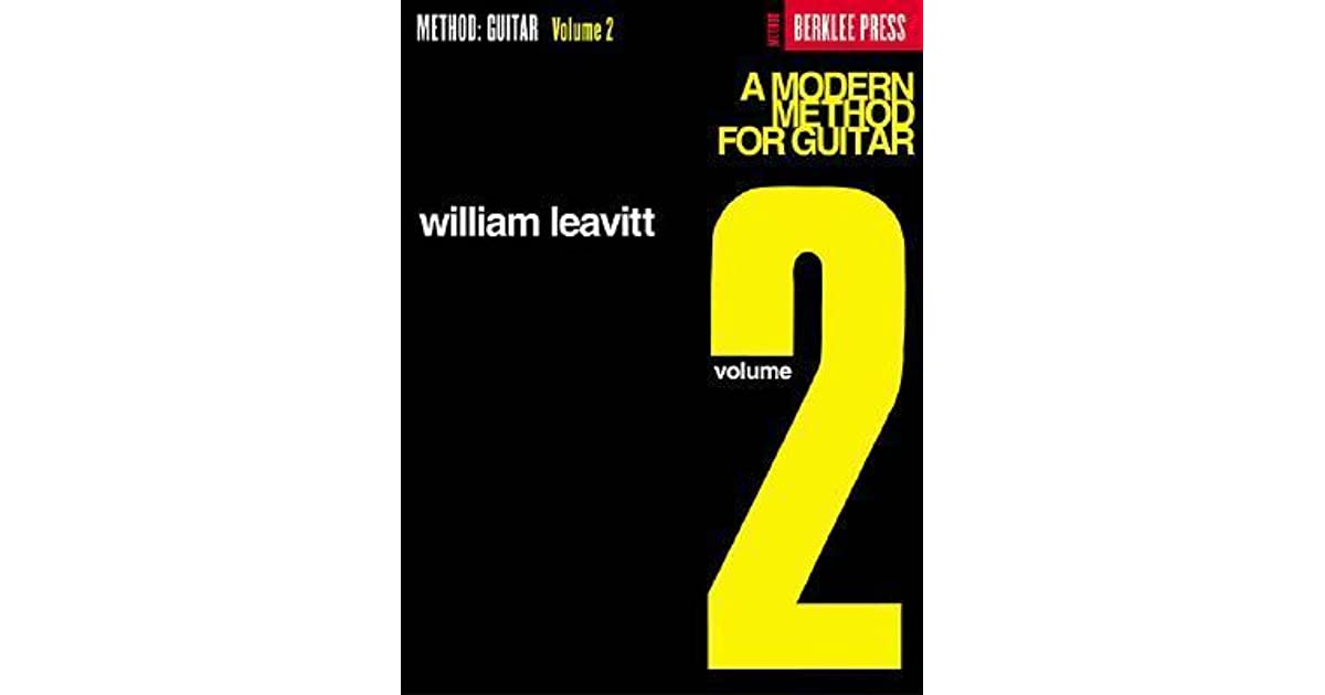 MODERN METHOD FOR GUITAR VOL.1 PDF DOWNLOAD