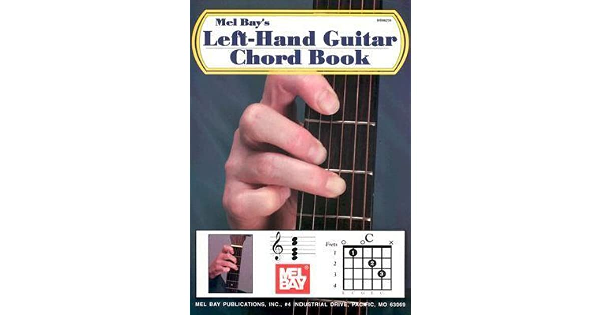 Left Hand Guitar Chord Book By William Bay