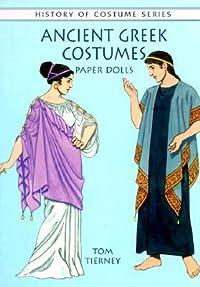 Ancient Greek Costumes Paper Dolls
