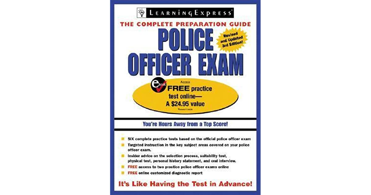 Book Police Officer Exam Cram 2Nd Edition 2009