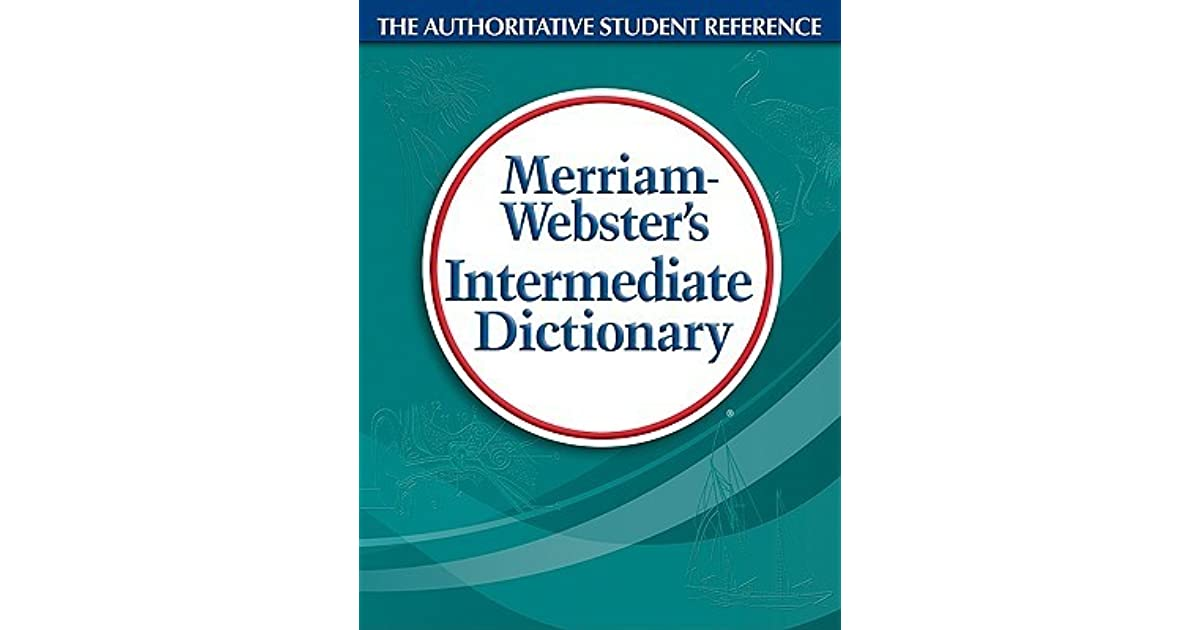 paperback meriam websters intermediate dictionary
