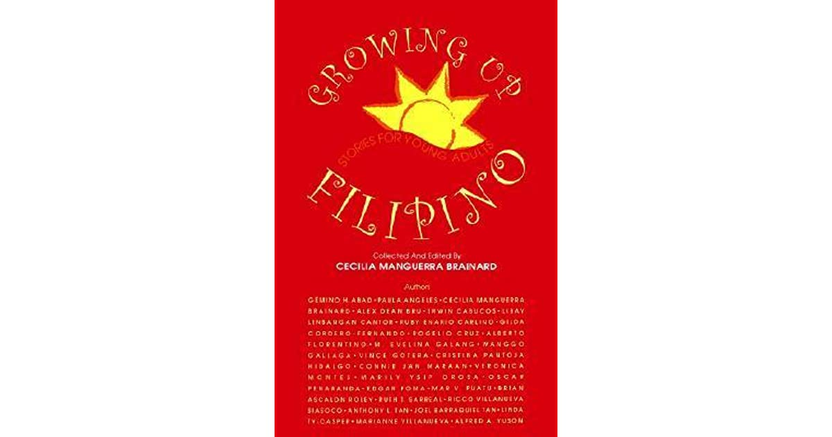 Growing Up Filipino Stories For Young Adults By Cecilia -6457