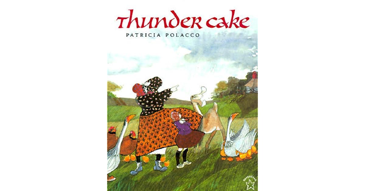 Image Of Book Thunder Cake