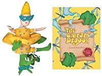 Library Dragon Book and Flip Doll Set [With Flip Doll]