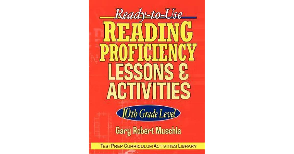 Ready-To-Use Reading Proficiency Lessons & Activities: 10th