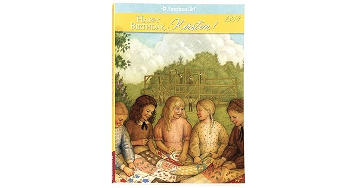 Happy Birthday Kirsten A Springtime Story By Janet Beeler Shaw