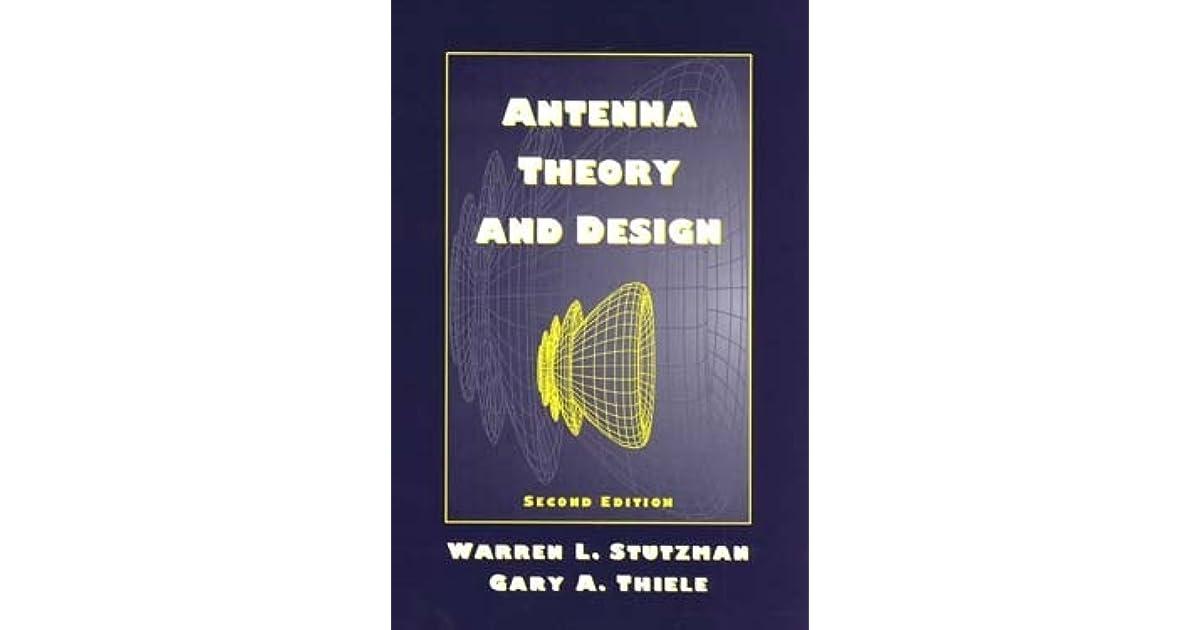 antenna theory and design stutzman 2nd edition pdf