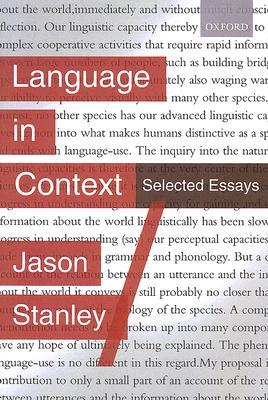 Language in Context: Selected Essays