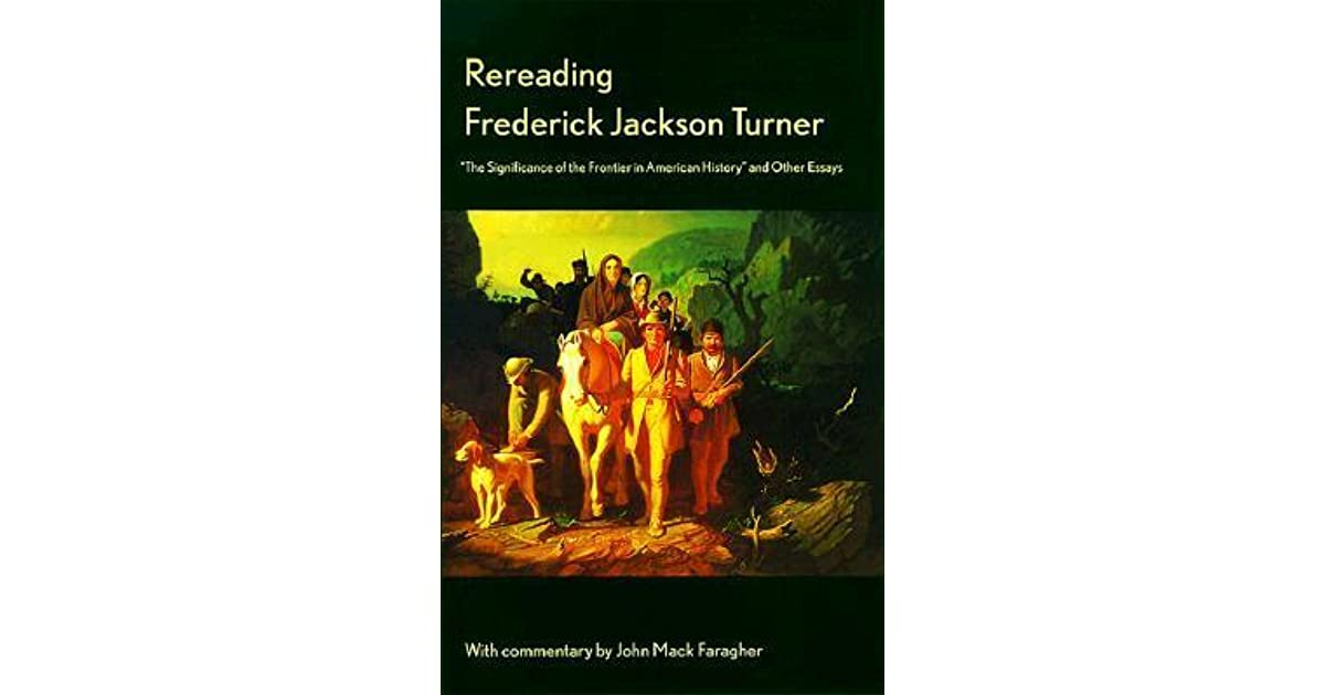 "fredrick jackson turner seminar Historian frederick jackson turner presented his ""frontier thesis"" in an address in chicago, the site of the 1893 world's columbian exposition."
