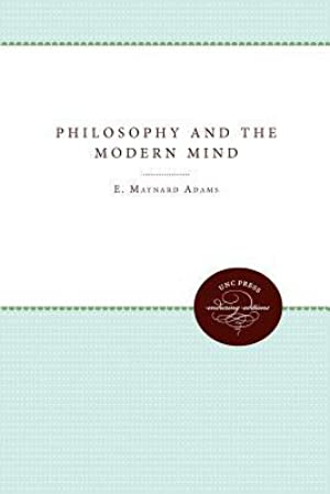 [Epub] Philosophy and the Modern Mind  By E.M. Adams – Submitalink.info