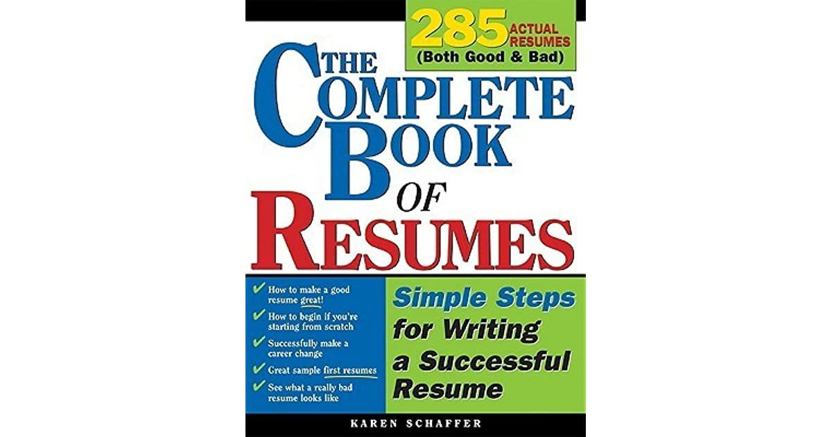 steps on how to make a resumes