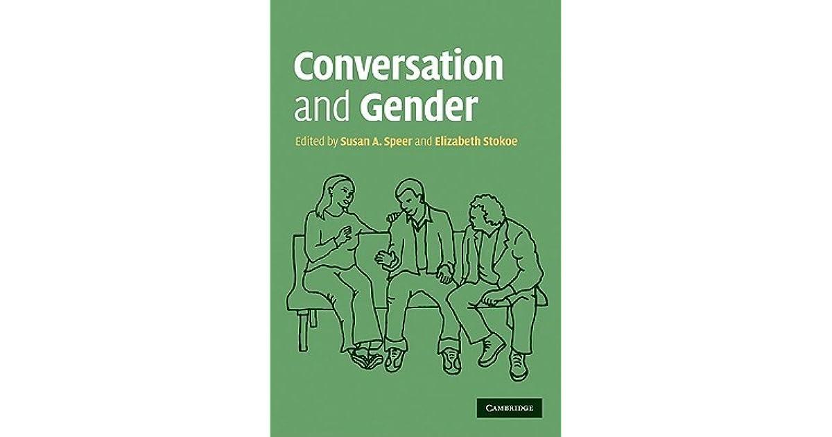 gender talk speer susan a