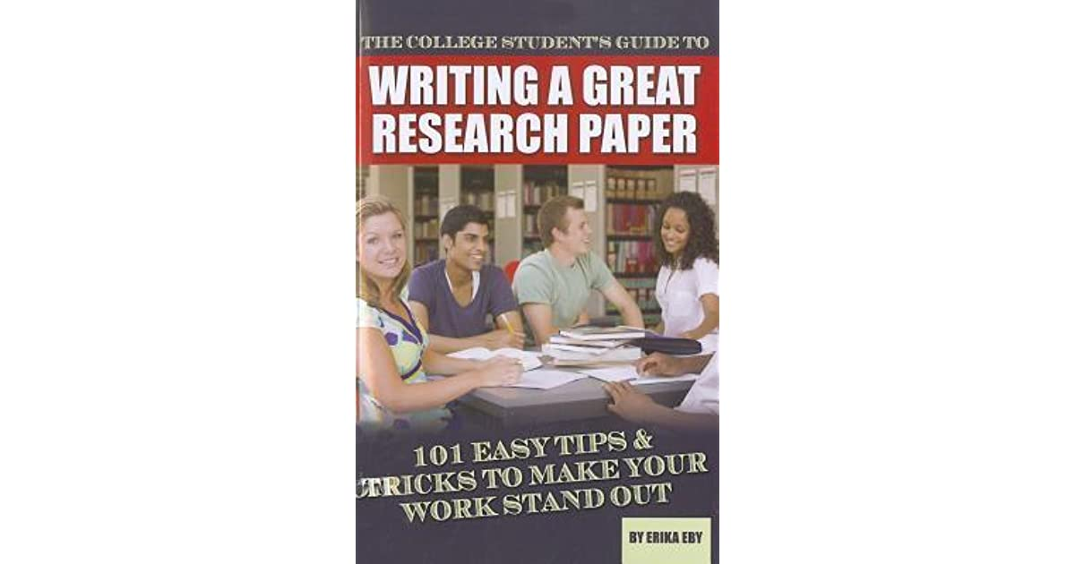 stanley chodorow writing a successful research paper