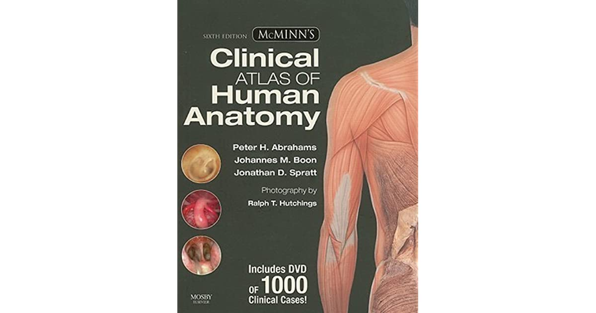Mcminns Clinical Atlas Of Human Anatomy By Peter H Abrahams