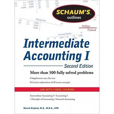 Intermediate accounting help