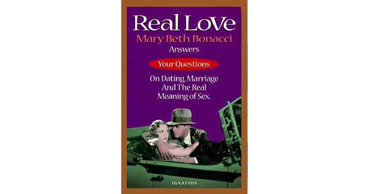 Answer dating marriage meaning question real sex