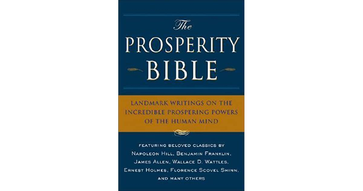 The prosperity bible landmark writings on the incredible prospering the prosperity bible landmark writings on the incredible prospering powers of the human mind by napoleon hill fandeluxe Images