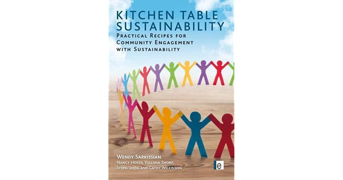 Kitchen Table Sustainability Practical Recipes for Community Engagement with Sustainability