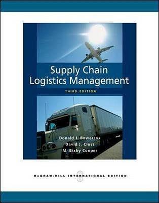 supply chain logistics management 4th edition pdf free