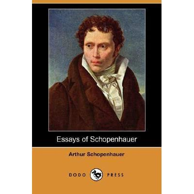 schopenhauer essay on noise On noise / kant wrote a treatise on the vital powers i should prefer to write a dirge for them the superabundant display of vitality, which takes the form of.