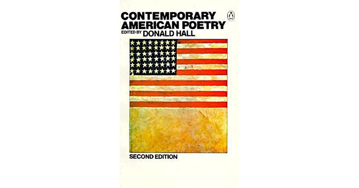 Contemporary american poetry by donald hall fandeluxe Ebook collections