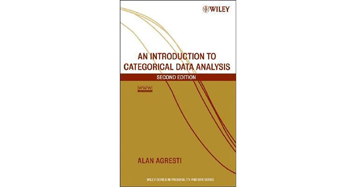 categorical data analysis 3rd edition solutions