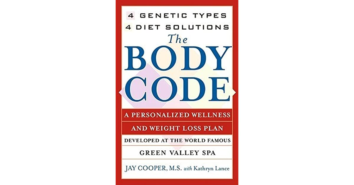 The Body Code A Personal Wellness And Weight Loss Plan At The World