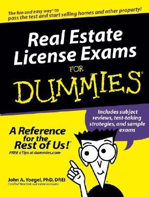 Real Estate License Exams for Dummies (ISBN - 0764576232)